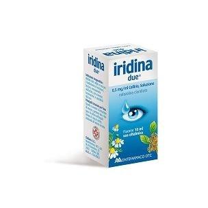 IRIDINA DUE COLLIRIO 10ML