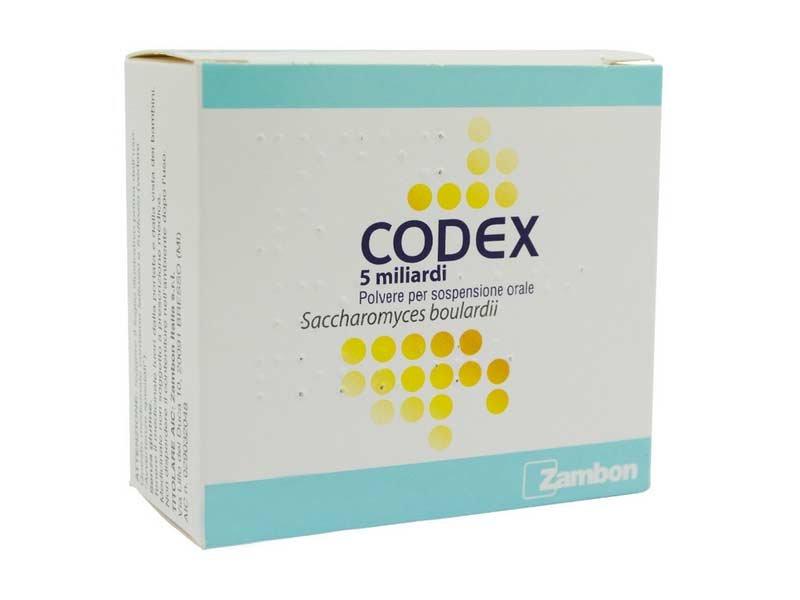 Codex 5 Miliardi 250 mg 10 Bustine