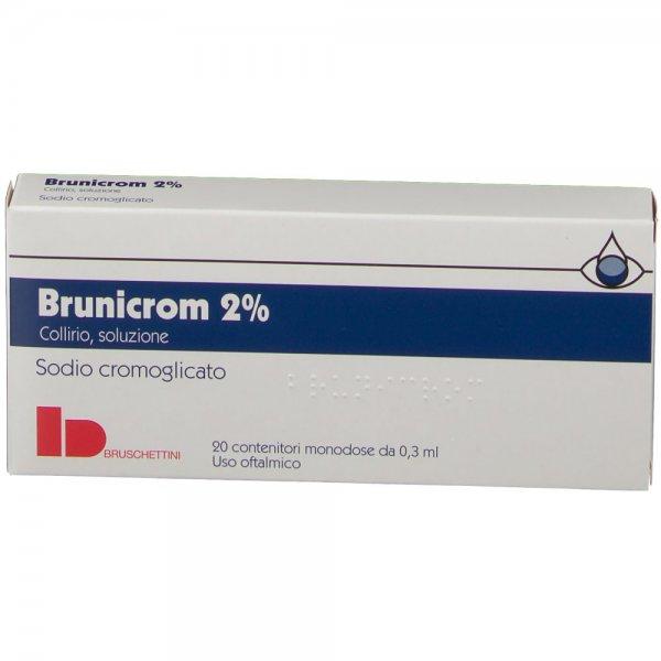 BRUNICROM*COLLIRIO 20CONTENITORI 0,3ML 2%