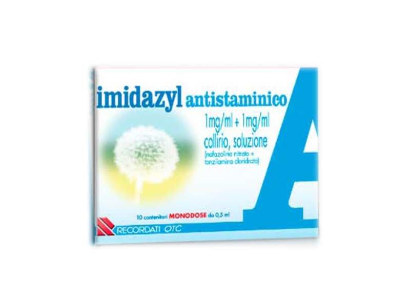 IMIDAZYL ANTISTAMINICO COLLIRIO 10FLAC0NCINI 5ML