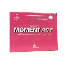 MomentAct 400 mg 6 Compresse