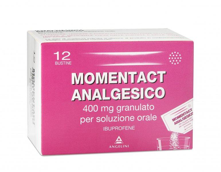 MomentAct Analgesico 400mg 12 Bustine