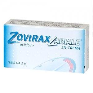 ZOVIRAX LABIALE CREMA 2G 5%