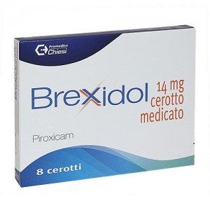 BREXIDOL 8 CEROTTI MED 14MG