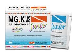 Pool Pharma Mgk vis Reidratante Junior integratore con elettroliti e carboidrati