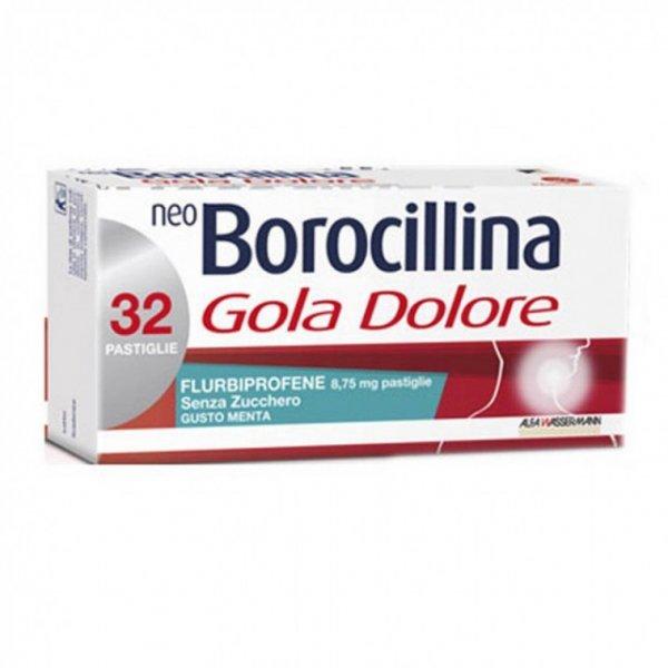 NEOBOROCILLINA GOLADO*32PST MENTA SENZA ZUCCHERO