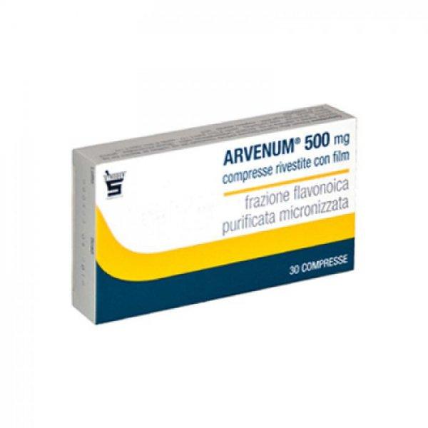 ARVENUM 60 COMPRESSE RIVESTITE 500MG