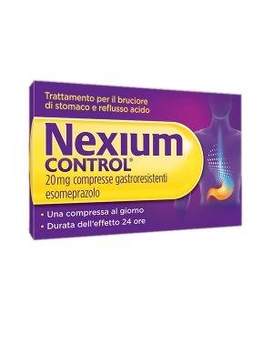 NEXIUM CONTROL 7 COMPRESSE GASTRORESISTENTI 20MG