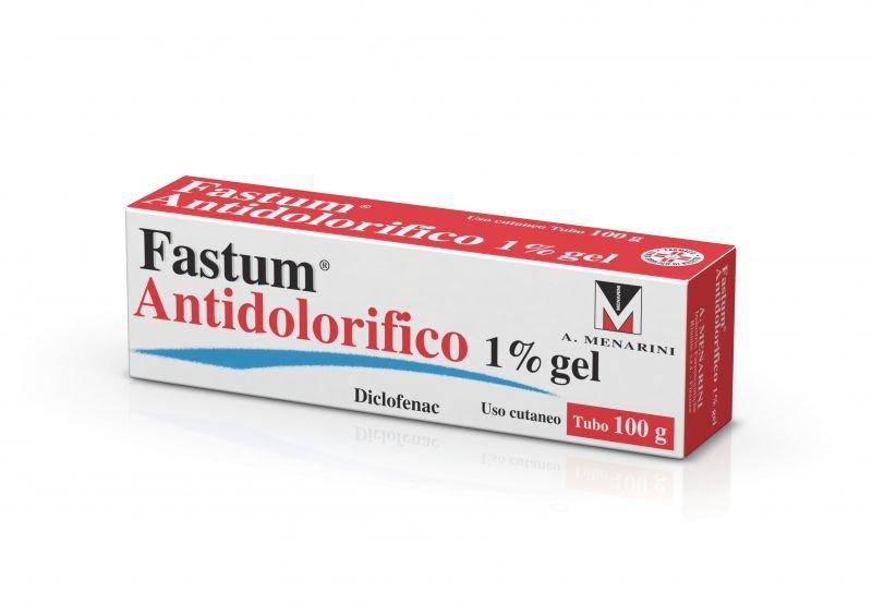 FASTUM ANTIDOLORIFICO GEL 100G 1%