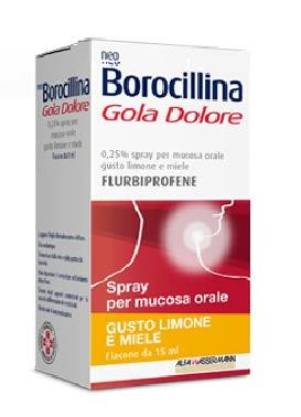 NEOBOROCILLINA GOLA DOLORE SPRAY LIMONE MIELE