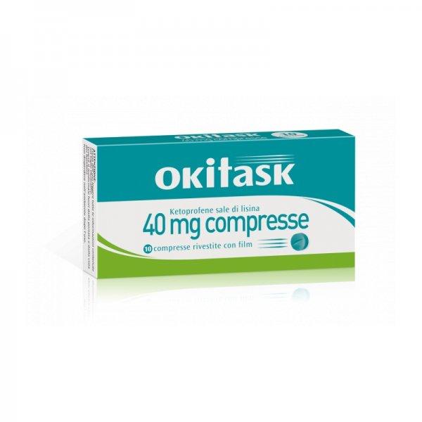 OKI TASK 10 COMPRESSE RIVESTITE 40MG