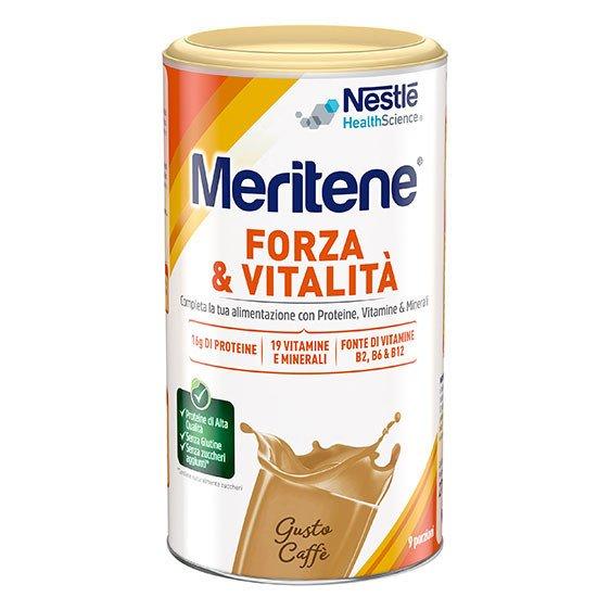 Meritene Forza e Vitalità Caffè 270 g Proteico
