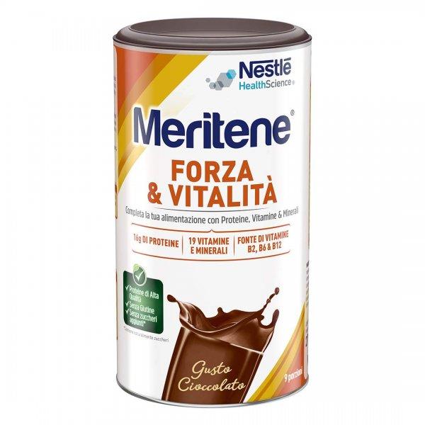 Meritene Forza e Vitalità Cioccolato 270 g Proteico