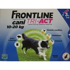 Frontline Tri-act cani 10-20kg 3 pipette