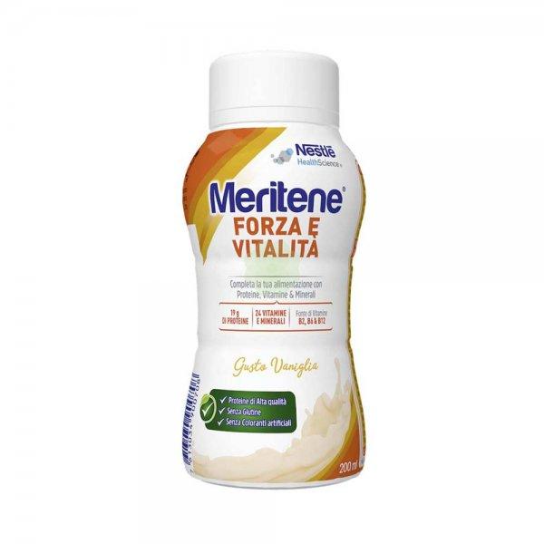 Meritene Forza e Vitalità Drink Vaniglia 200 ml Proteico