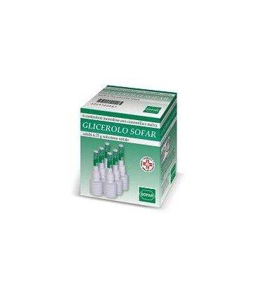 GLICEROLO SOFAR 6 CONTENITORI MONODOSE 6,75G