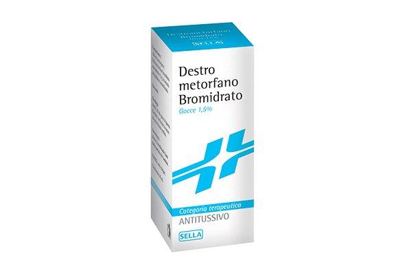 DESTROMETORFANO BROMIDRATO SELLA*150ML