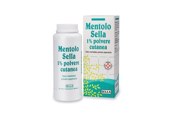 MENTOLO SELLA*1% POLVERE CUTANEA 100G