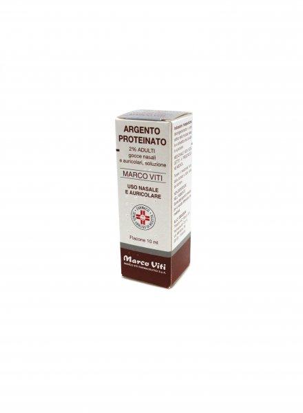 Argento Proteinato 2% 10ml Decongestionante Adulti in Gocce