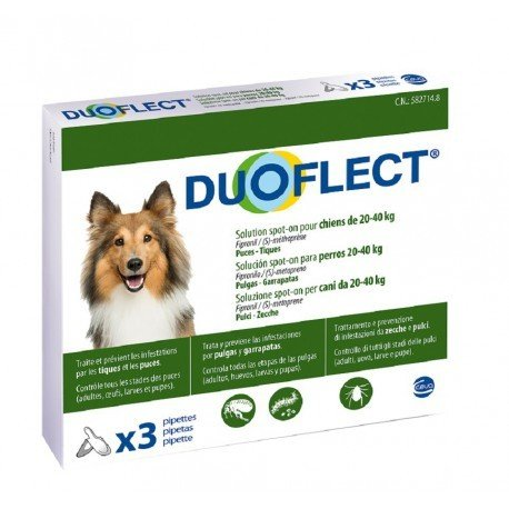 DUOFLECT 3 PIPETTE 2.82ML PER CANI DA 20-40KG