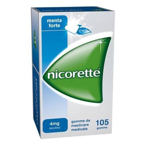 NICORETTE 105 GOMME MASTICABILI 4MG MENTA