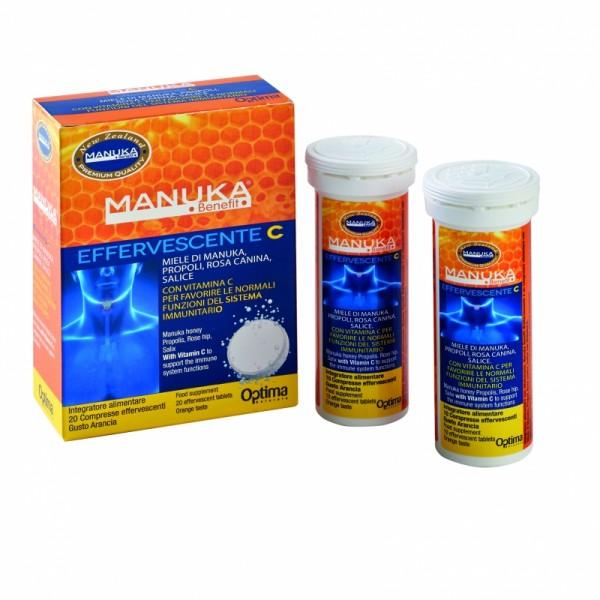 Optima Manuka Benefit effervescente C compresse
