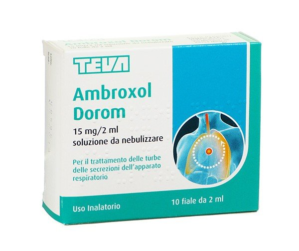 AMBROXOL DOROM*NEB 10F 2ML15MG