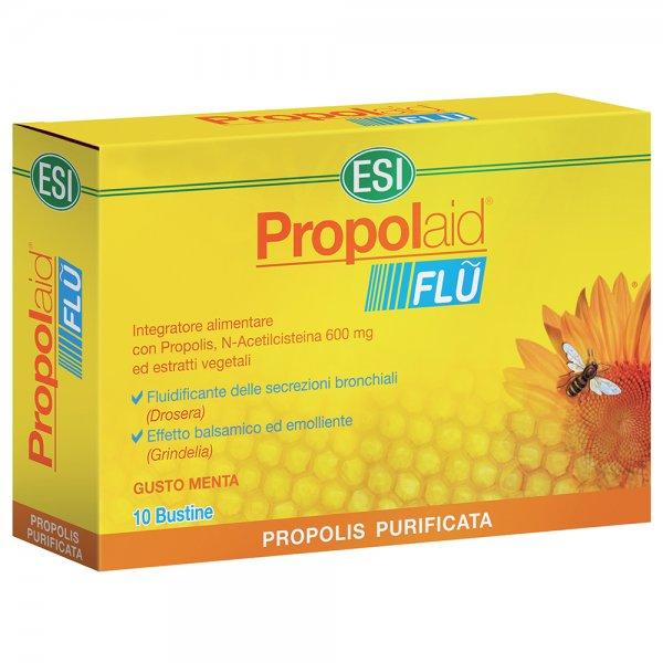 Esi Propolaid Flu 10 Bustine Gusto menta