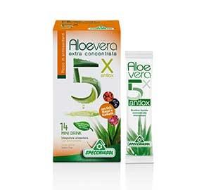 Specchiasol Aloevera 5x antiox ricco di antiossidanti - mini drink