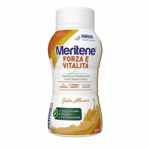 Meritene Forza e Vitalità Drink Albicocca 200 ml Proteico