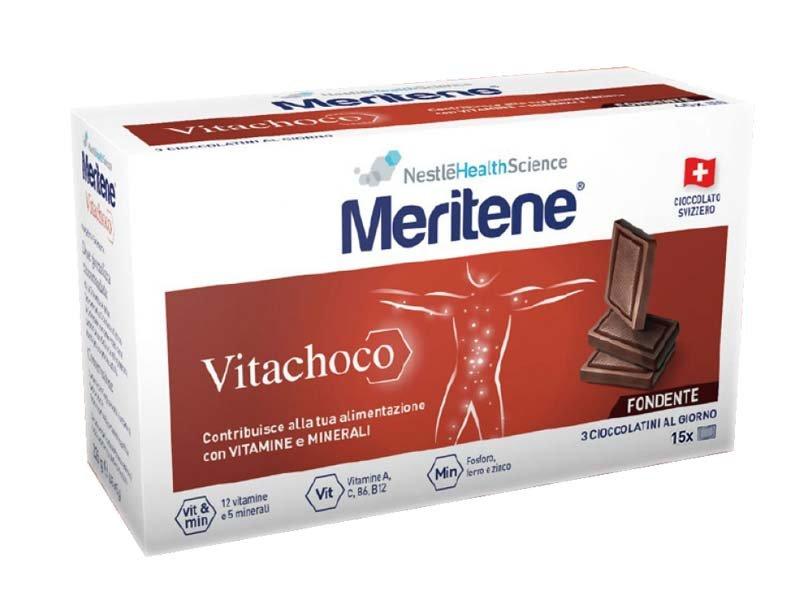 Meritene Vitachoco Fondente 15 Cioccolatini Multivitaminico