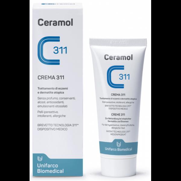 Ceramol 311 Crema 311 Coadiuvante nel trattamento di eczemi e dermatite atopica 200 ml