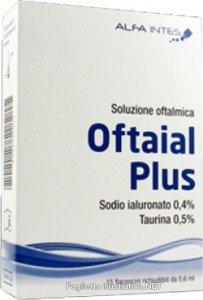 OFTAIAL PLUS SOLUZIONE OFTALMICA 15FL