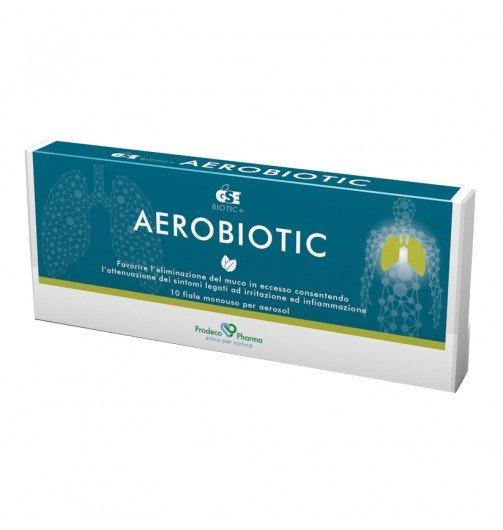 Gse Aerobiotic 10 Fiale da 5 ml