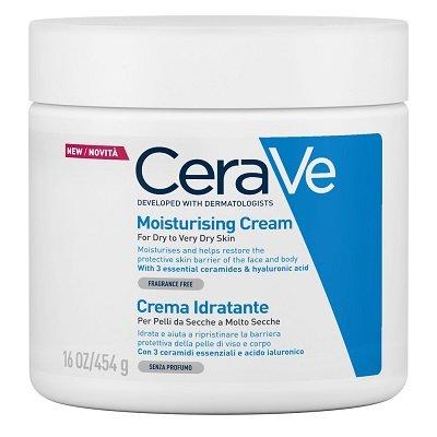 CeraVe Crema Idratante 454 g Viso Corpo