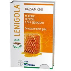 Bayer Lenigola 10  perle gusto liquirizia