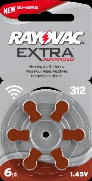 Pile apparecchio acustico Polaroid Digital Superior 6Pezzi Modello pr41 312