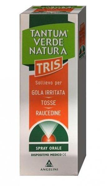 TANTUM VERDE NATURA TRIS SPRAY ORALE 15ML