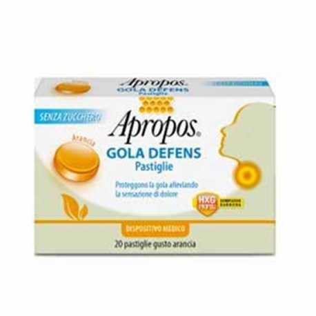 APROPOS GOLA DEFENS ARANCIA 20 PASTIGLIE