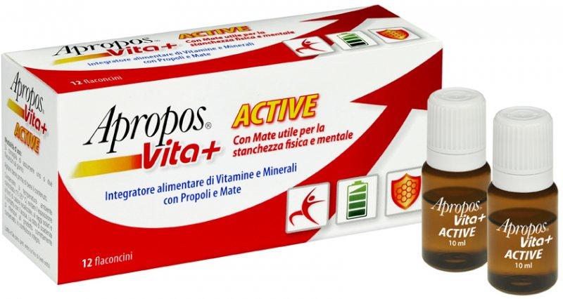 APROPOS VITA+ ACTIVE 12 FLACONCINI