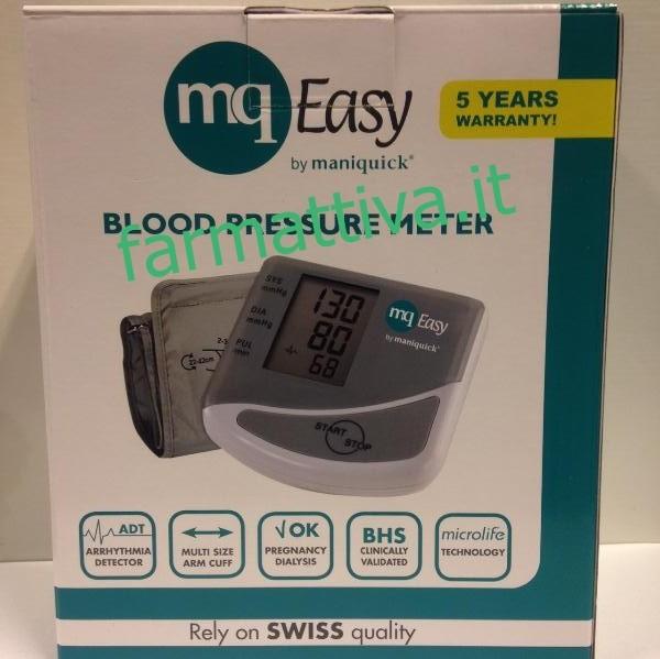 Maniquick MQ Easy - Misuratore di pressione da braccio MQ098