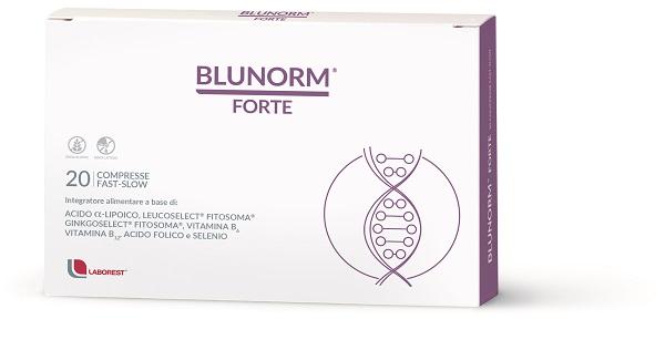Blunorm Forte Fast Slow 20 Compresse Per La Circolazione
