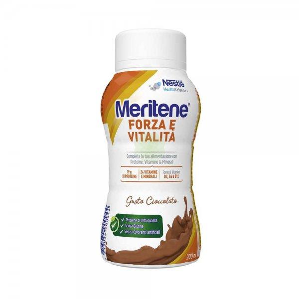 Meritene Forza e Vitalità Drink Cioccolato 200 ml Proteico