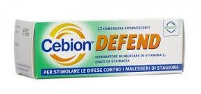Bracco Cebion Defend integratore alimentare di vitamina c