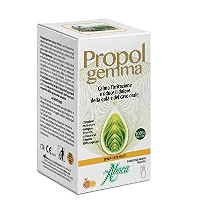 Aboca Propolgemma Estratto Idroalcolico 30 ml Gola Irritata