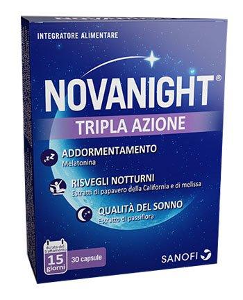 Novanight Tripla Azione 16 Compresse Per Il Sonno