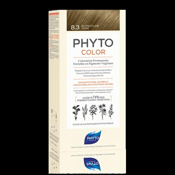 Phyto PHYTOCOLOR 8.3 BIONDO CHIARO DORATO