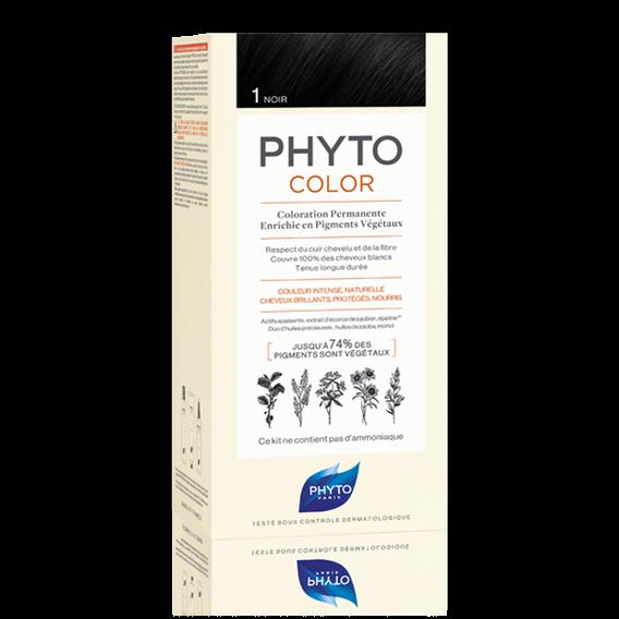 Phyto PHYTOCOLOR 1 NERO Colorazione Permanente