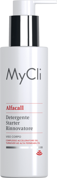 MYCLI ALFACALL DETERGENTE STARTER RINNOVATORE VISO/CORPO 200ML