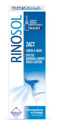 Rinosol 2ACT Spray Nasale 15 ml Decongestionante